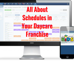 Daycare Franchise - Schedules