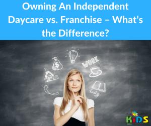 Independent Daycare vs Franchise