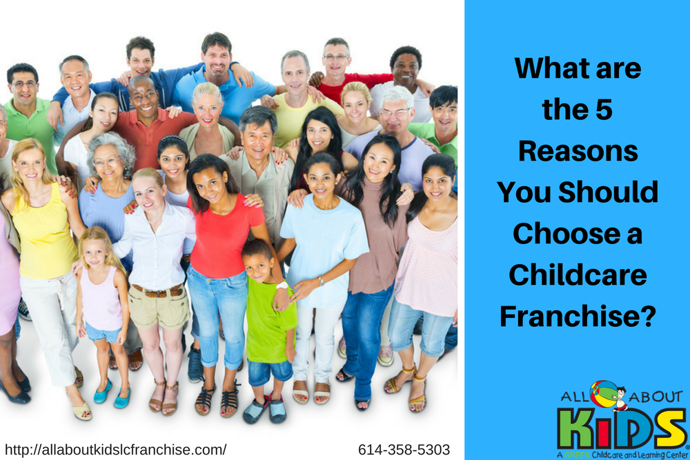 Top 5 Reasons You Should Choose a Childcare Franchise!