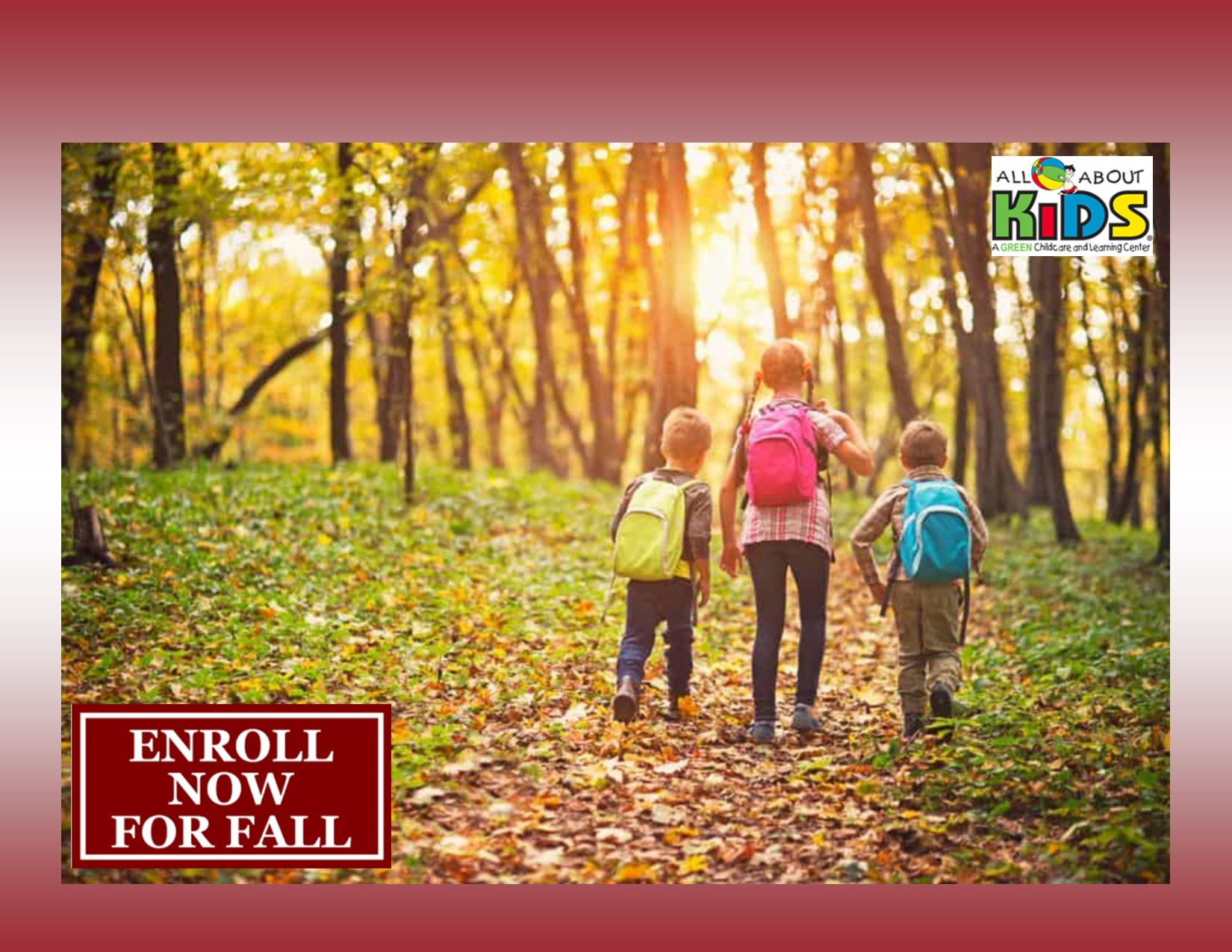 Now Enrolling for Fall 2019!