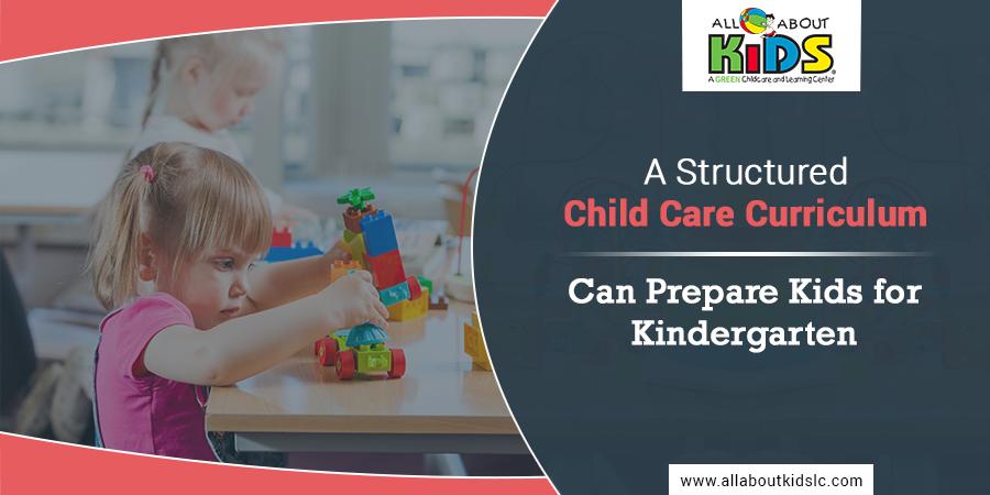 A Structured Child Care Curriculum Can Prepare Kids for Kindergarten