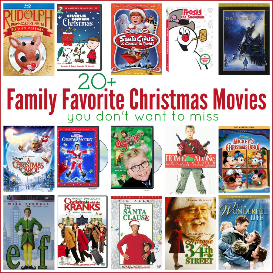 25 Holiday Movies to Watch with Your Family!